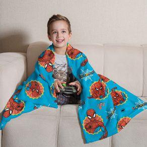 Manta-Flannel-Infantil---SPIDER-MAN