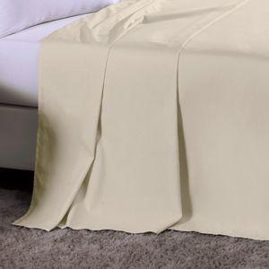 Lencol-s-elastico-Casal-BEGE-CLARO