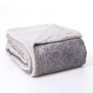 Cobertor-Dupla-Face-Sherpa-Queen-Pedra-cinza