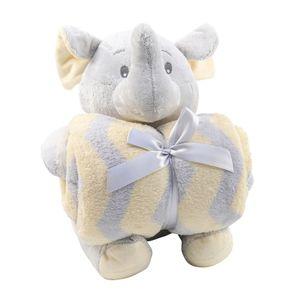 Manta-Bebe-Pelucia-FL---Elefante-Cinza